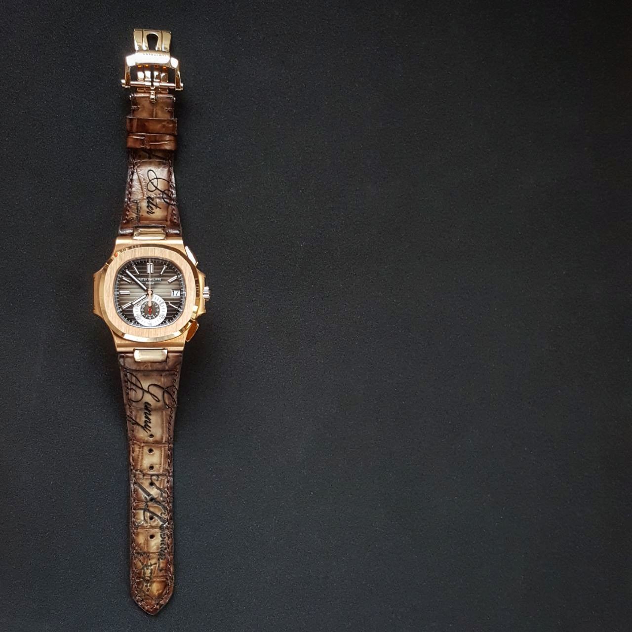 Gunny Straps Official - Beaver with Scritto Serie for Patek Philippe