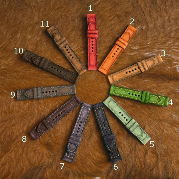 Canvas colors w numbers - Gunny Straps Official