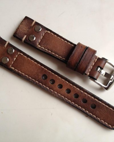 PilotChocoLeather - Gunny Straps Official