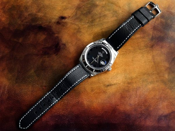 pebble black 03 - Gunny Straps Official