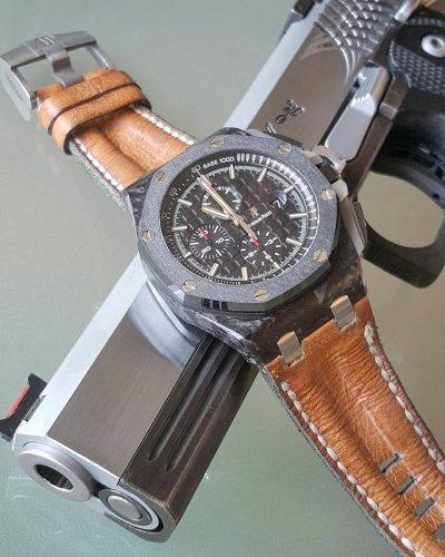 AP Qotod double row brown - Gunny Straps Official