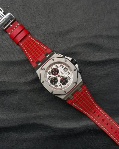 AP chessboard red 01 - Gunny Straps Official