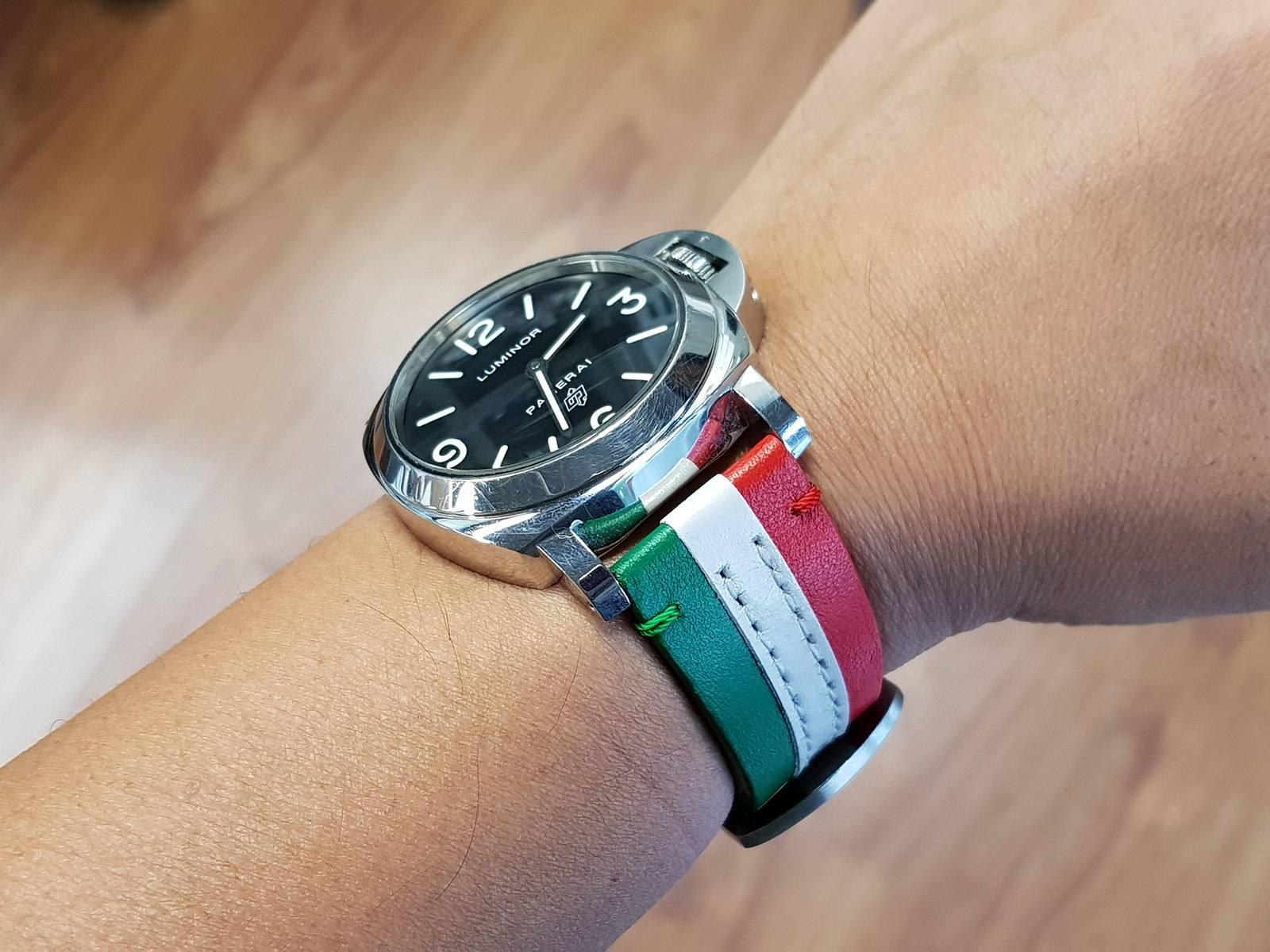 Threesome Italian Flag - Gunny Straps Official-3237