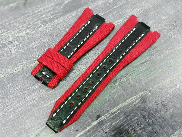 threesome red black 01 - Gunny Straps Official