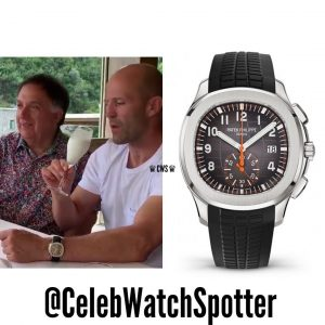 Jason Statham wearing Aquanaut 5968