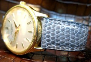 Patek Philippe attached on Lizard Strap made by ABP Concept