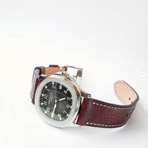 Patek Philippe Aquanaut 5167A attached on JKW Serie made by Gunny Straps