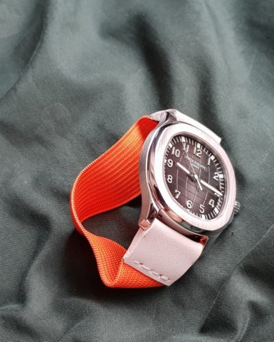 orange and white kolor patek philippe